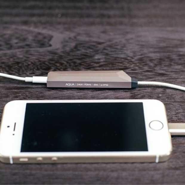 AQUA: muziek van hoge kwaliteit via je smartphone
