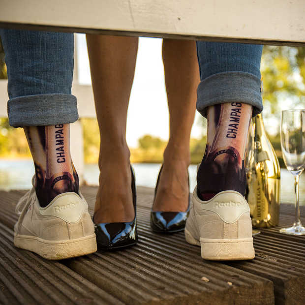 De rebelse prints van Sock My Feet