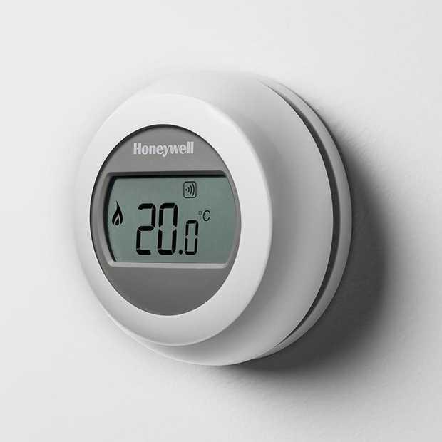 De ronde thermostaat van Honeywell is nu ook connected