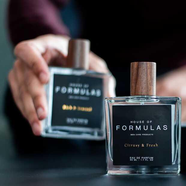 Een op maat gemaakt parfum voor mannen: maak kennis met het algoritme van House of Formulas
