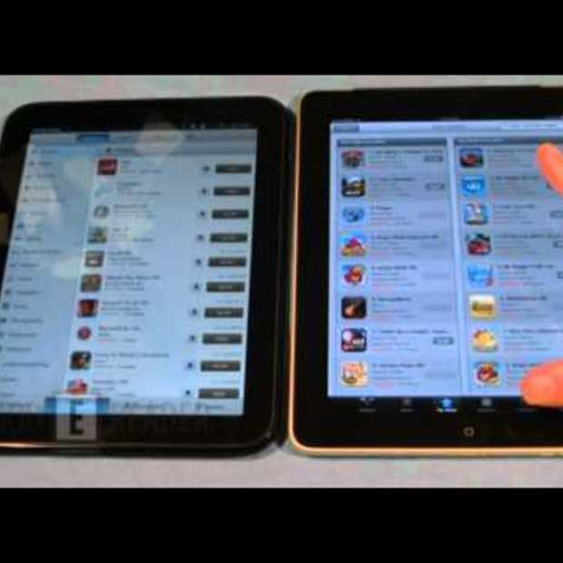 HP Touchpad vs Apple iPad