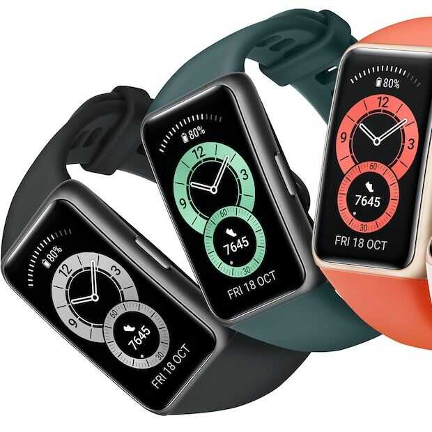 Huawei onthult de Band 6, een nieuwe sportieve wearable
