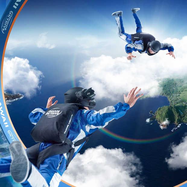 Benelux primeur: Indoor Skydive Roosendaal lanceert Skydive VR