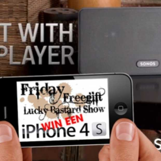 iPhone 4S & Sonos Play:3 te winnen in de #FFGLBS