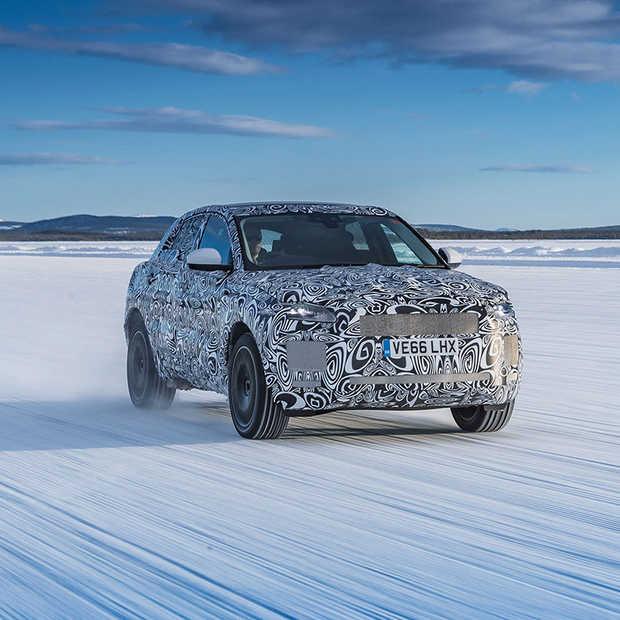 Jaguar onderwerpt E-Pace aan een intensief testprogramma