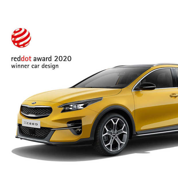 Kia XCeed wint Red Dot Design Award