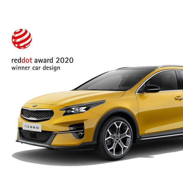 Kia XCeed wint Red Dot Design Award