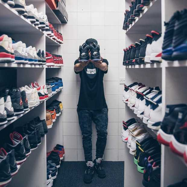 Een kijkje in de schoenenkast van sneakerverzamelaar KicksTQ