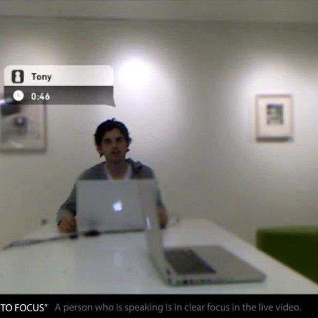 Gebruik Kinect om een video conference op te zetten
