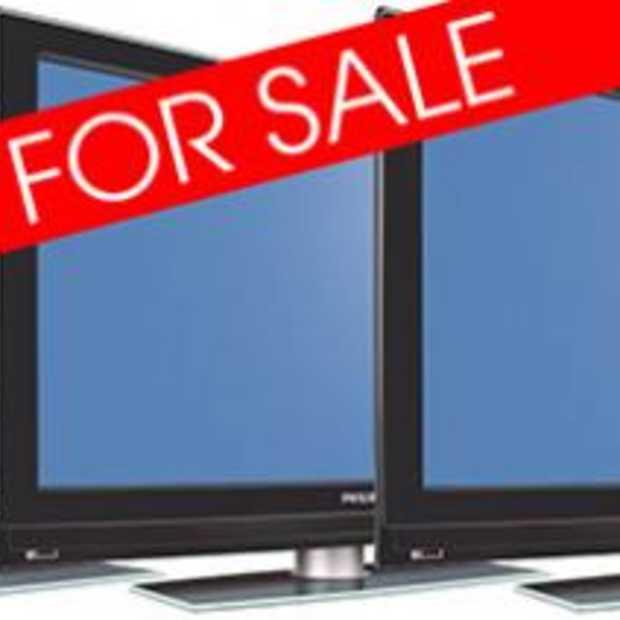 LCD-televisie 132 Euro te duur in Winkel