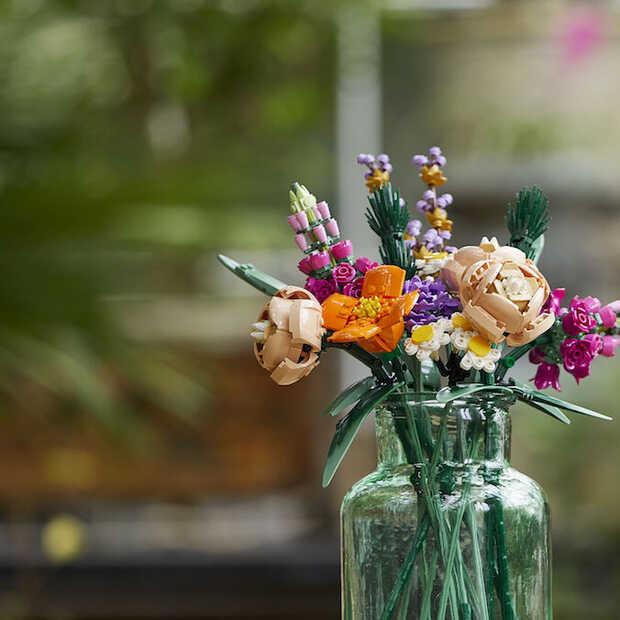 Deze bloemen verwelken nooit: LEGO komt met botanische collectie