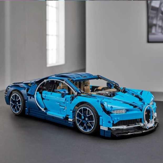 LEGO maakt Bugatti Chiron van 3600 stukjes voor de liefhebbers