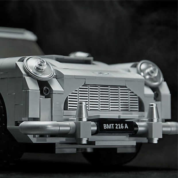 Must have: De Aston Martin DB5 van James Bond in Lego