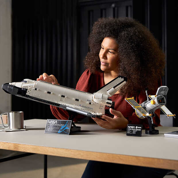 LEGO en NASA komen met Space Shuttle-set