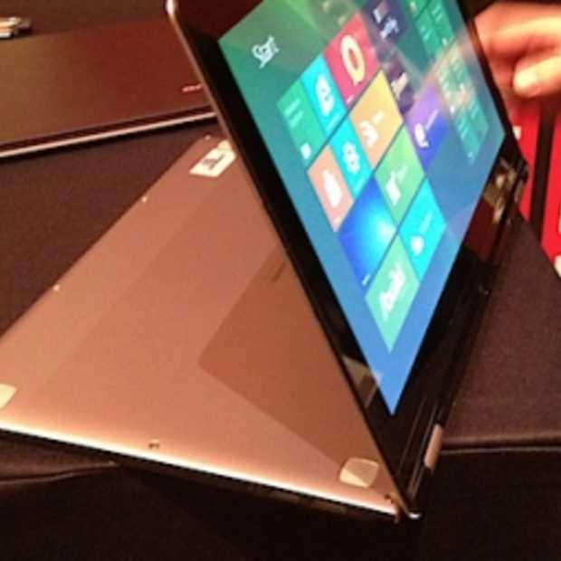 Lenovo Touchscreen Ultrabook! De toekomst, Vandaag!