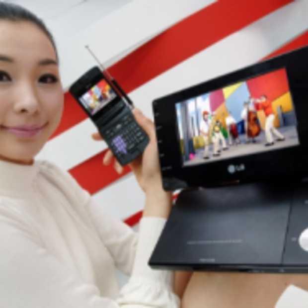 LG komt met Mobiele Digitale TV