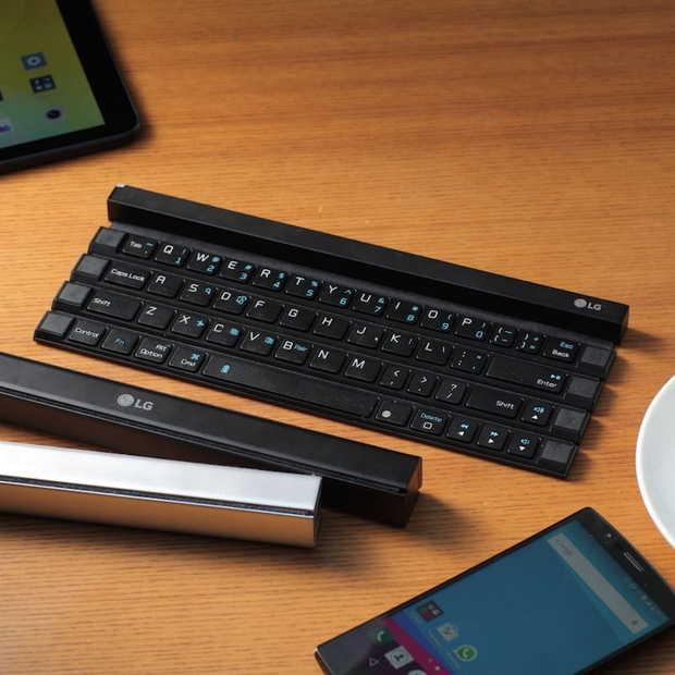 LG Rolly Keyboard: handig oprolbaar toetsenbord!