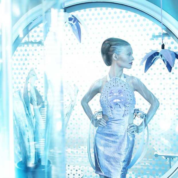 Living Pods: interactieve couture licht accessoires