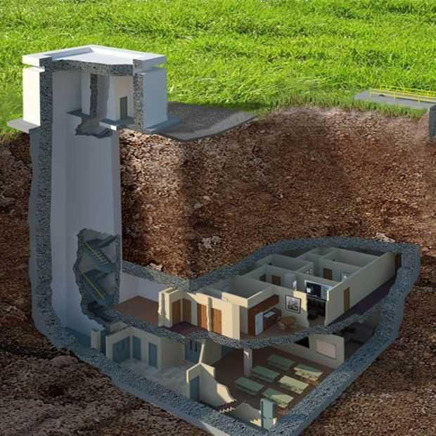 Check de meest luxe nucleaire bunker ooit (kosten: 17,5 miljoen)