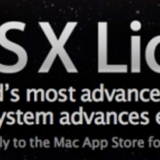 Mac OS X Lion (Persbericht)