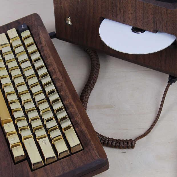 Golden Apple: de 1984 Macintosh gemaakt van hout