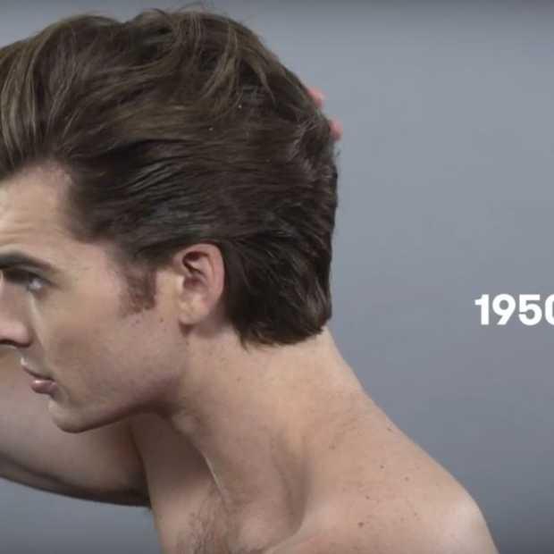 De populairste kapsels van mannen in de afgelopen 100 jaar