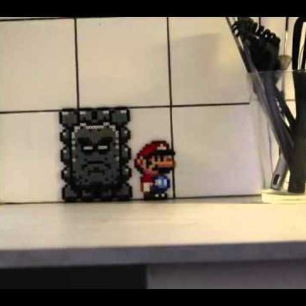 Mario enters the real world