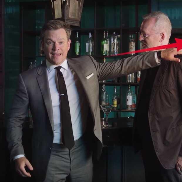 Matt Damon laat je zien hoe je een gevecht wint in een bar