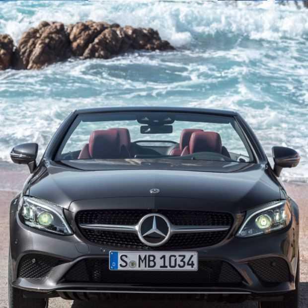 Dit zijn de 2019 Mercedez Benz C-klasse coupé en cabrio