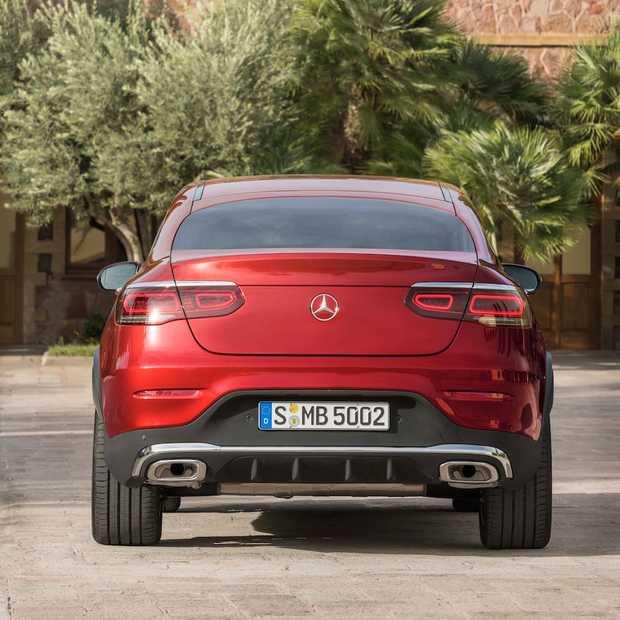 Foto-impressie nieuwe Mercedes-Benz GLC Coupé