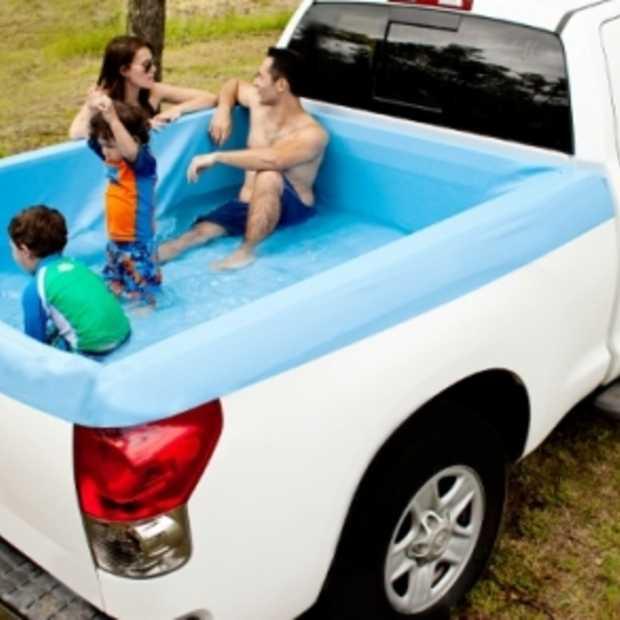 Met de Amerikaanse Pick-up Pools tover je elke truck om tot een zwembad!