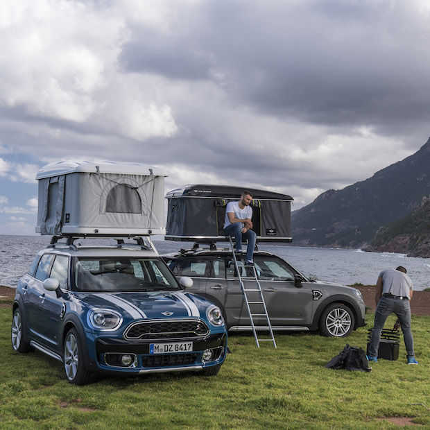 Perfect match: AUTOHOME daktent voor de nieuwe MINI Countryman