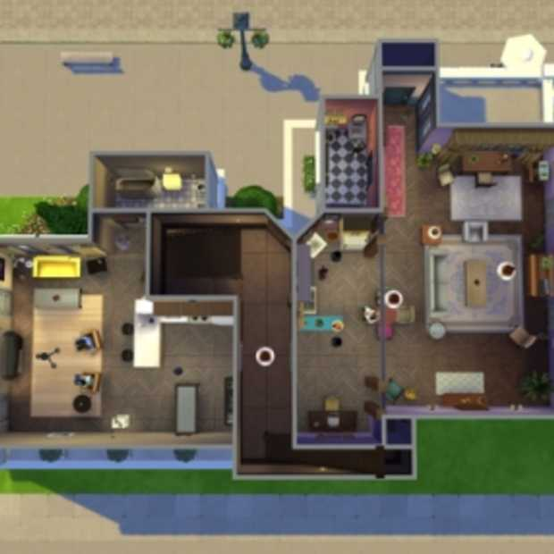 Must-see: Friends nagemaakt met Sims 4