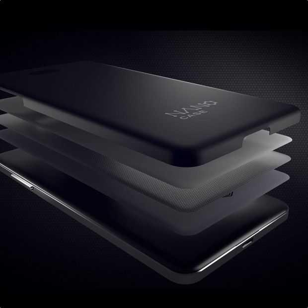 Nanocase hoes kan smartphonebatterij sparen door materiaal