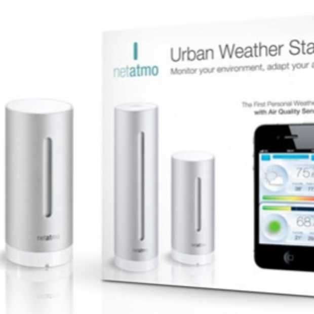 NetAtmo je eigen weerstation voor je iPhone, iPad of iPod Touch