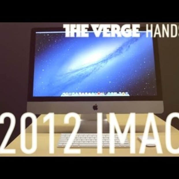 New iMac hands-on demo by The Verge