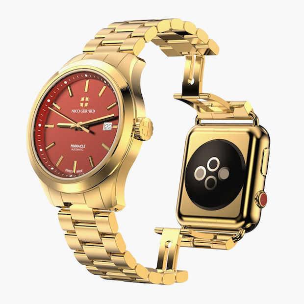 Luxe horlogefabrikant maakt hybride Apple Watch