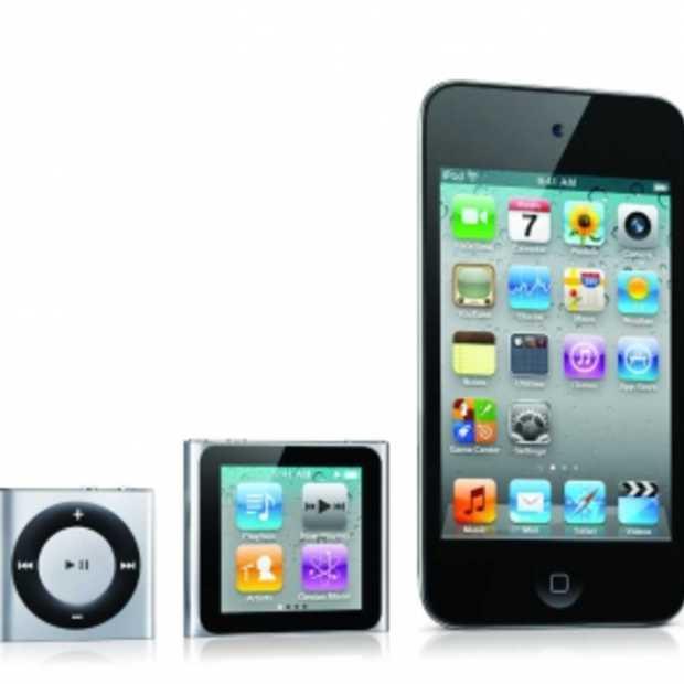 Nieuwe iPod Touch en Nano