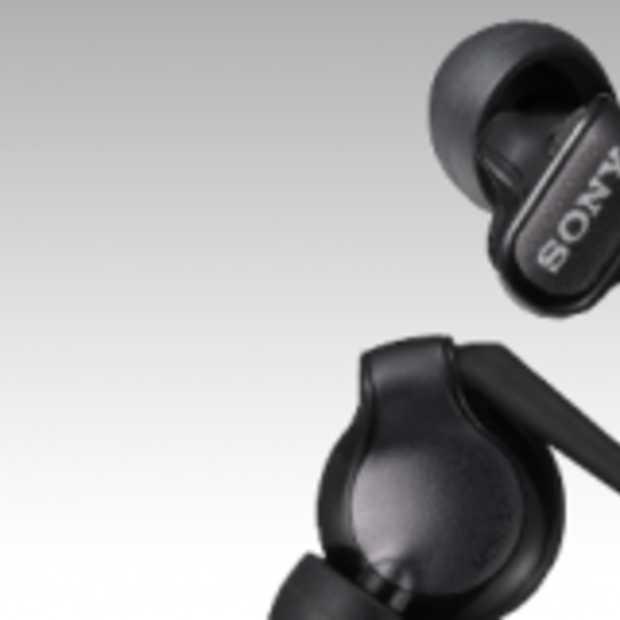 Nieuwe Sony hoofdtelefoon voor iPod en iPhone
