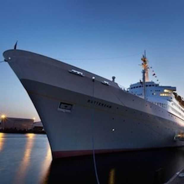 OBJECT Rotterdam strijkt neer op cruiseschip SS Rotterdam!