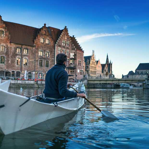 Onak is de ideale, opvouwbare kano