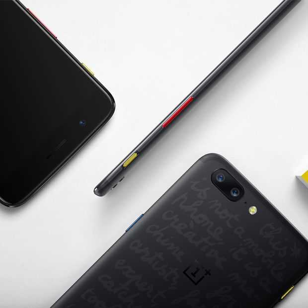 Fashion sense: Limited Edition OnePlus 5 lanceert 'callection'