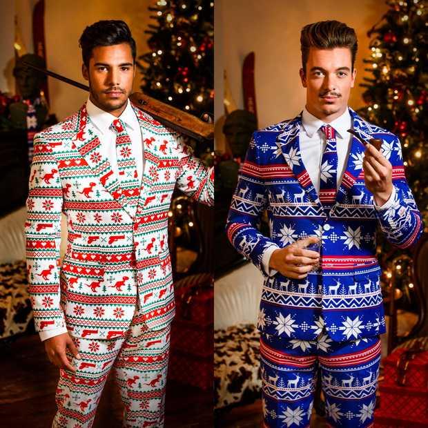 Maak kans op een gaaf kerstpak van Opposuits