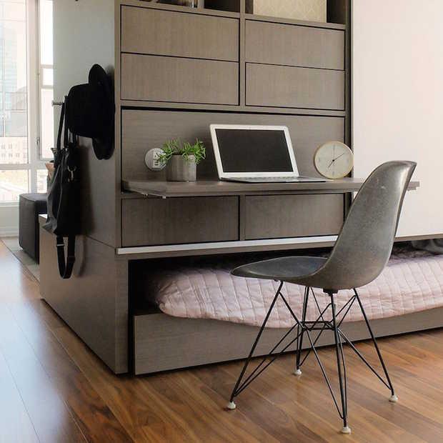 Verander de indeling van je kamer met robotmeubels van Ori