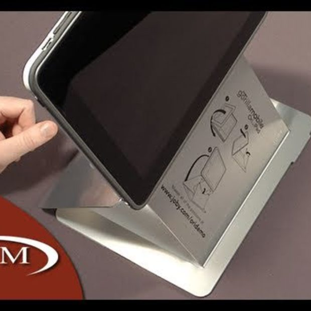Ori Upright Metal Stand and Case for iPad from Joby
