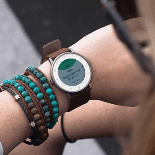 De Pebble Time Round, 28 gram licht en 7,5 millimeter dun, is nu verkrijgbaar