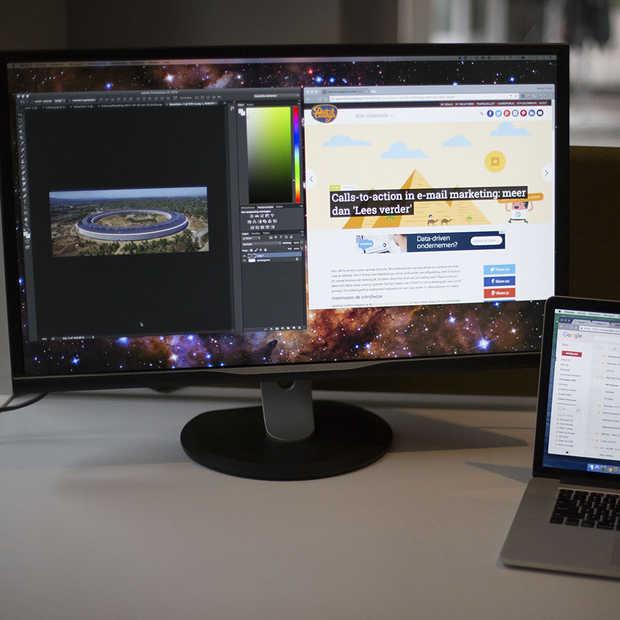 Heerlijk werken met de Philips Quad HD-schermen in 32 inch-formaat