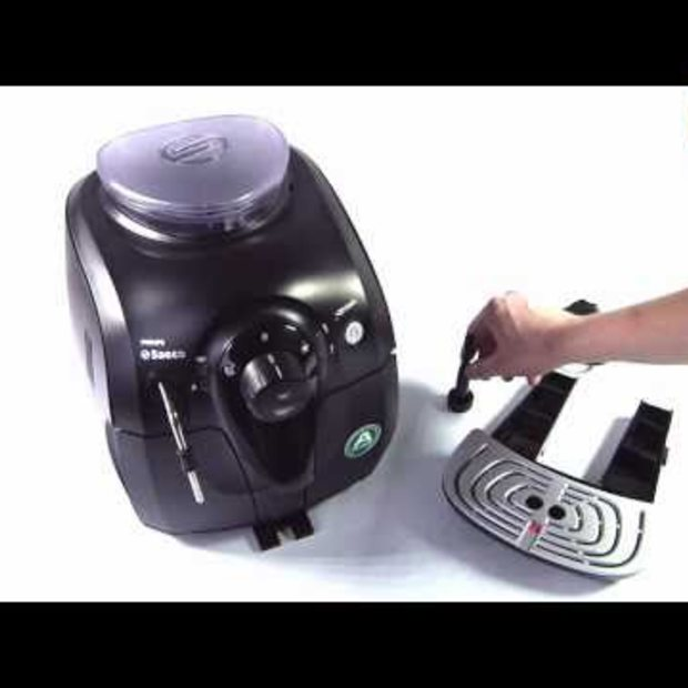 Philips Saeco HD8743 XSmall Black review en unboxing