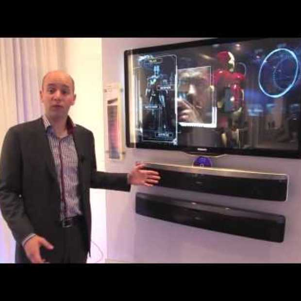 Philips SoundBar home theater with Ambisound