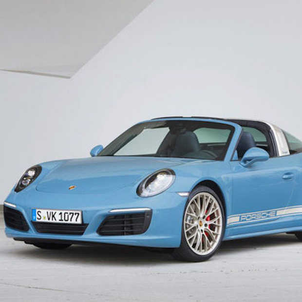 Geweldige auto: Porsche 911 Targa 4S Exclusive Design Edition